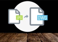 How to Convert a JPG Image or File to Editable DWG Online