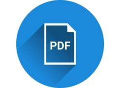 How to Convert an Image to PDF for Free without Online Programs (Example)