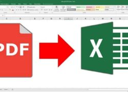 How to Convert a Scanned PDF Document to Excel Easily