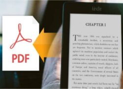 How to Easily Convert PDF Document to Kindle Free Online (Example)