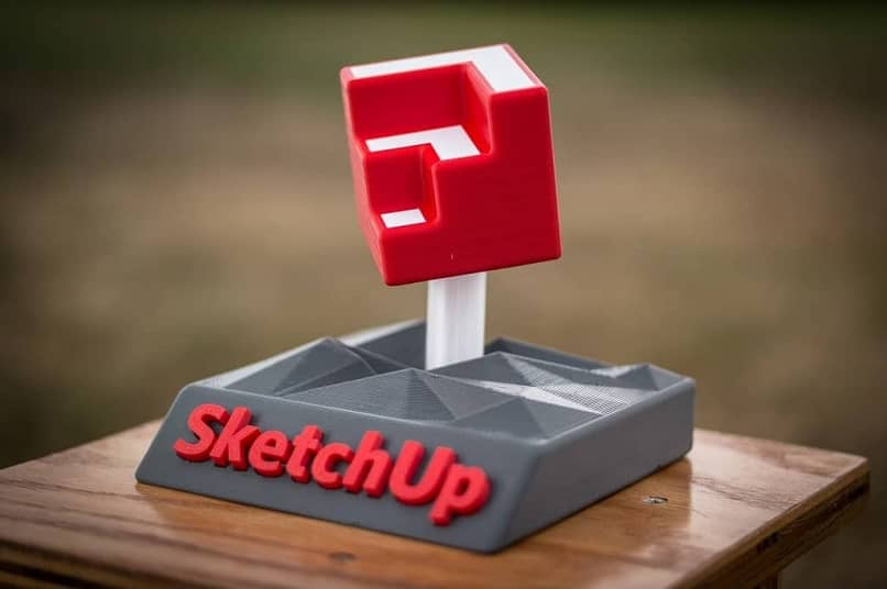 object designed with sketchup