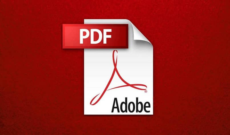 pdf file with red background