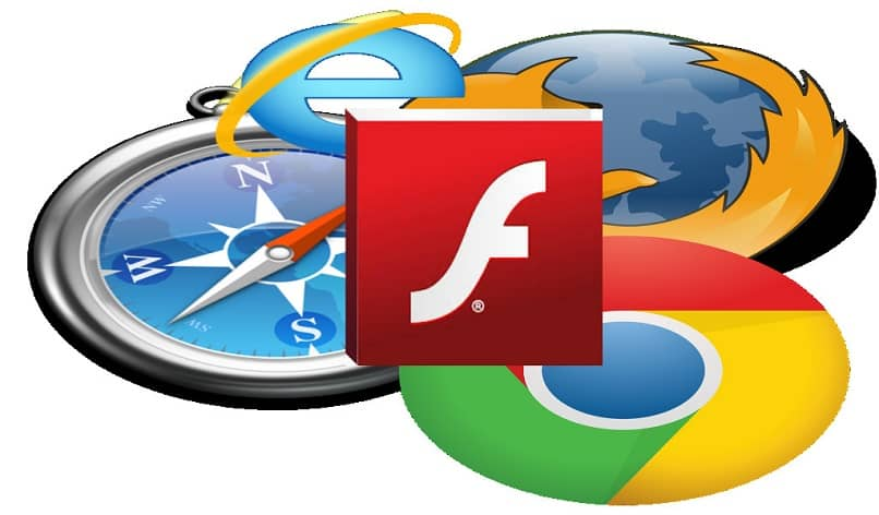 running flash in browsers