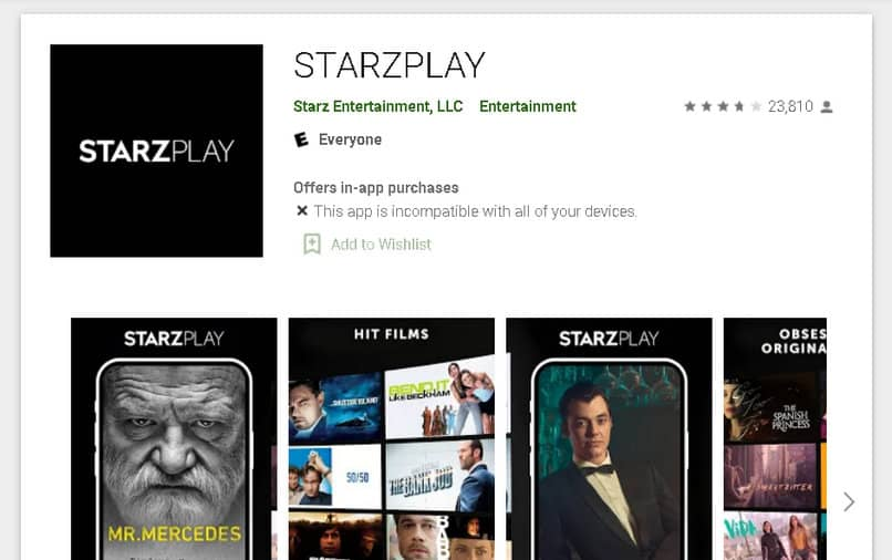 starzplay in play store
