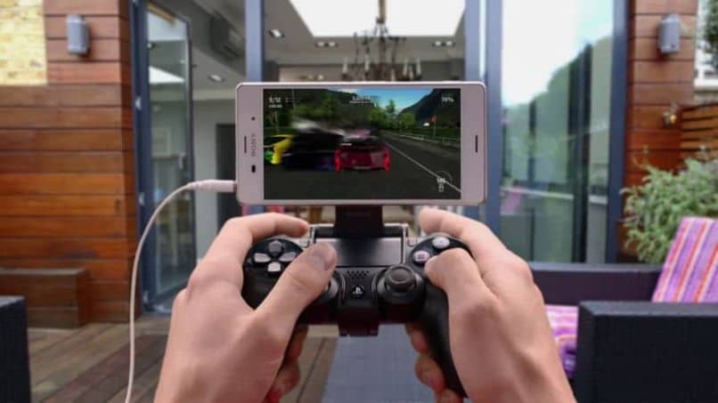controller ps4 cell phone