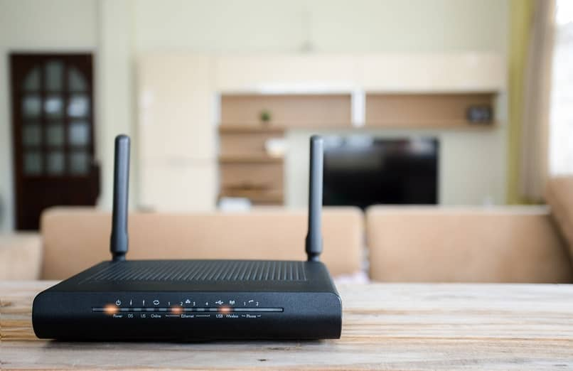 A router at home