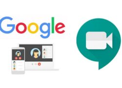 How to Share a Meeting link on Google Meet Very Easy!  (Example)