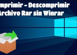 How to Compress and Unzip a rar File in Windows 10 without Winrar