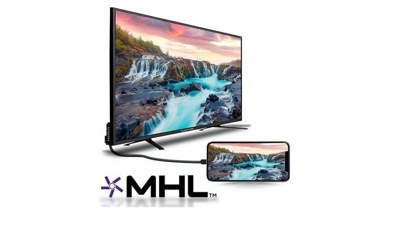 TV connected to mobile via MHL cable