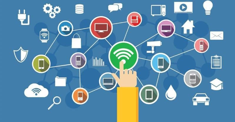 Wi Fi network connection vector