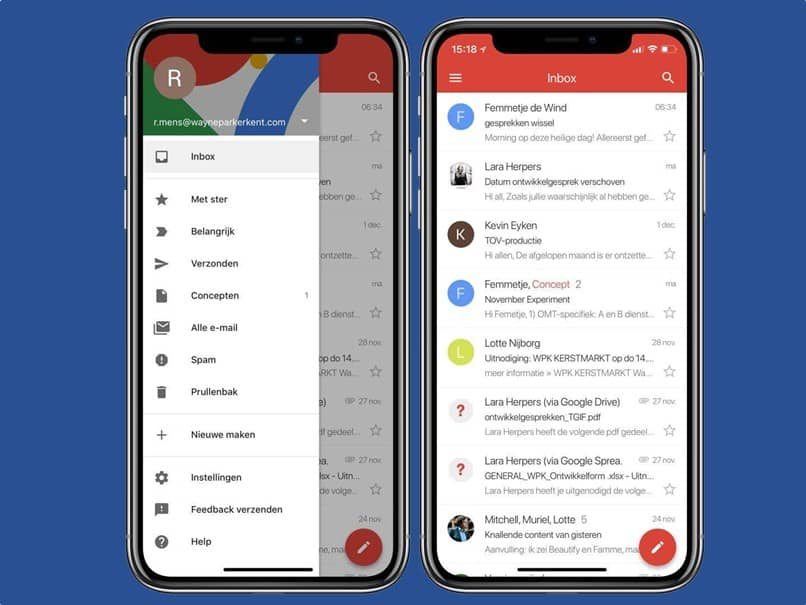 gmail mobile devices