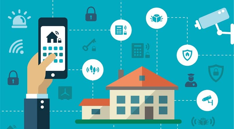 smartphone control home functions