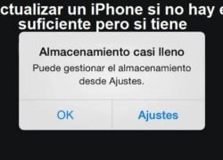 How to Update an iPhone if there is not Enough Space but You Have (Example)