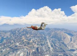 How to Open the Parachute in GTA 5?  Very easy!  - Grand Theft Auto 5 (Example)