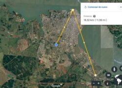 How to Calculate and Measure Distances and Complete Areas in Google Earth?  (Example)