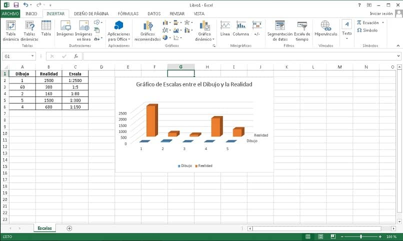 How to Calculate or Represent a Scale in Excel - Step by Step (Example)