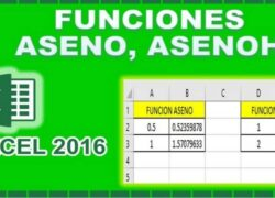 How to Calculate the Inverse Sine with the ASENO and ASENOH Functions in Excel