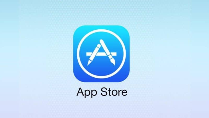 App Store icon on iPhone