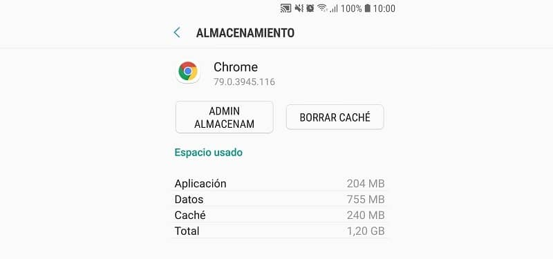 Chrome page clear cache