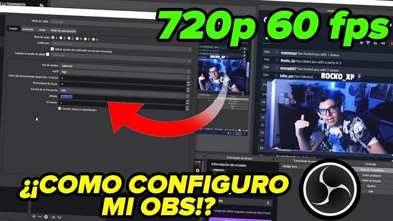 configure obs streaming