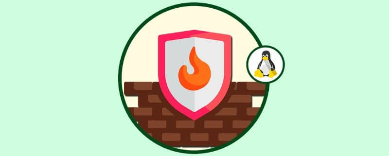 firewall icon with green background