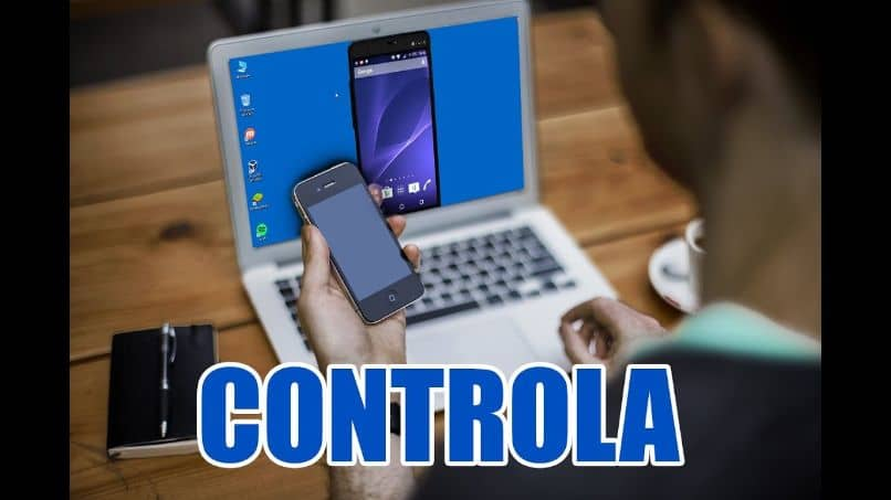 control pc with mobile