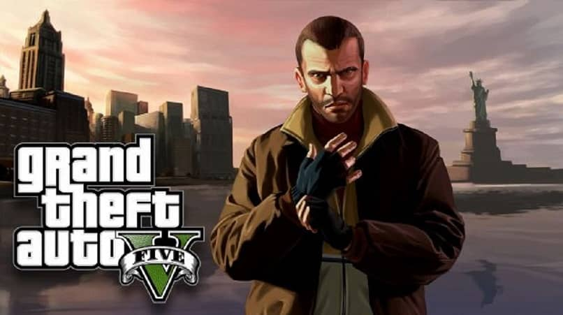 GTA man with gloves