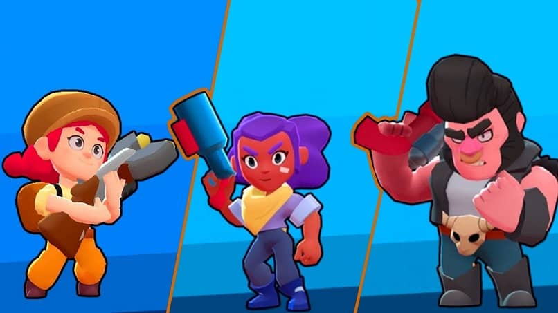 choose the characters in brawl star