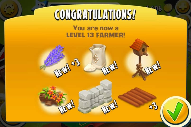 There is a day going up to level 13