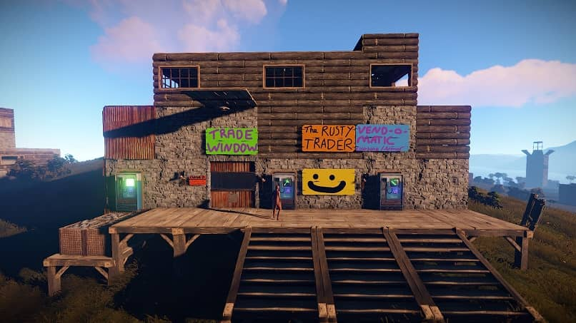 construction house video game rust