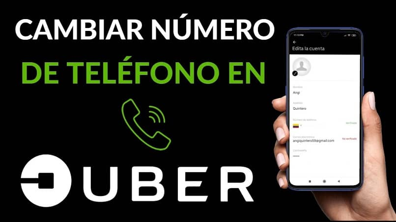 it's easy to change your number on uber