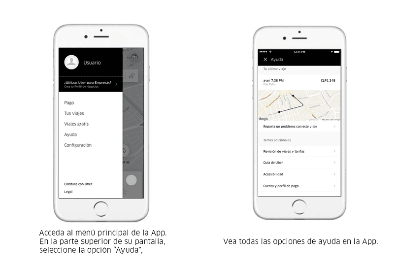 uber allows you to get fast transportation