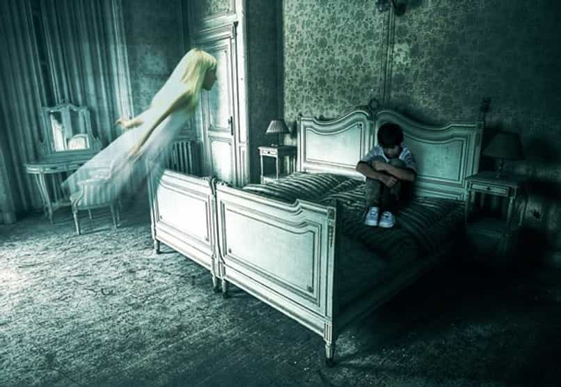 ghost ghost photoshop child room