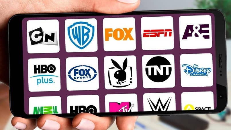 phone with tv channels