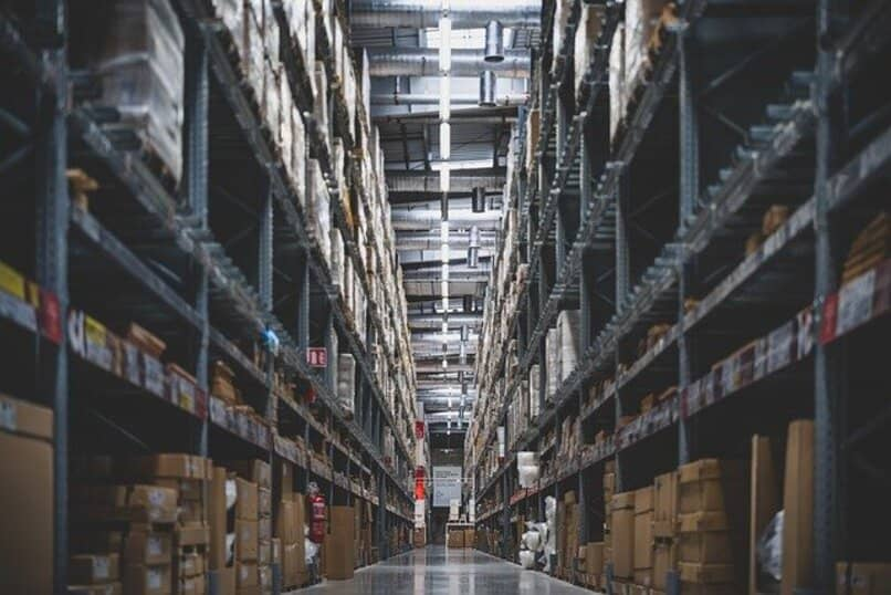 inventory in a warehouse
