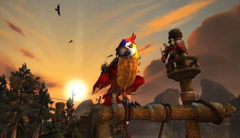 parrot mount in wow
