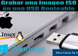 How to Burn an ISO Image to a Bootable USB on Windows, Linux or Mac?