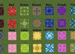 How to Craft Tiles in Minecraft?  - Glazed Terracotta Tiles