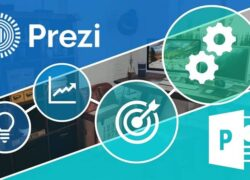 How to Copy, Paste, Sort and Group Objects in Prezi step by step?  (Example)