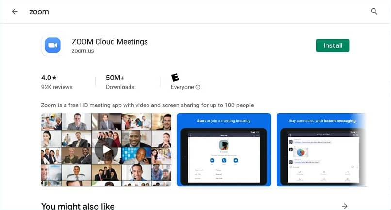 download zoom for cell phone from play store