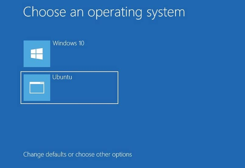 choose boot system