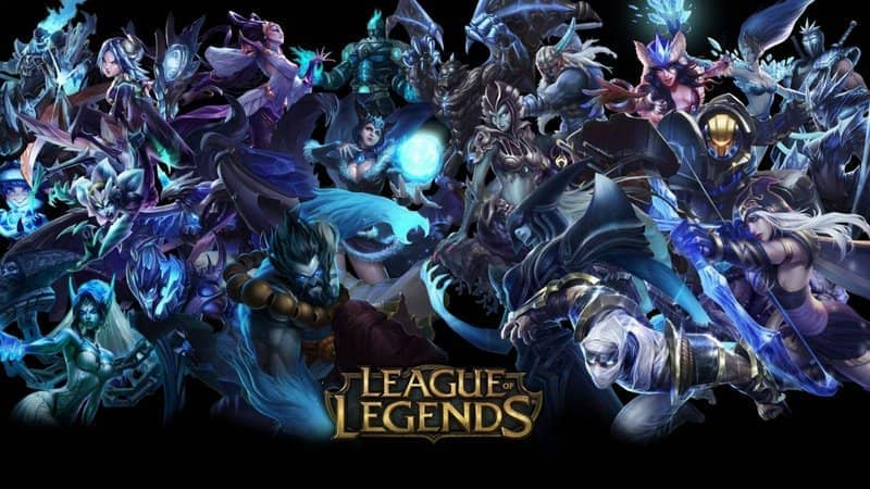 various league of legends characters